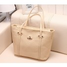 S360 Beige Leather Bag